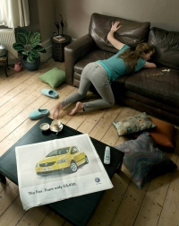 Andy Brittain Copywriter - VW Fox print ad